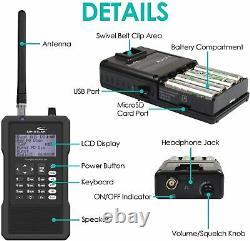 Whistler TRX-1 Digital Scanner Radio Handheld Trunking Self Programming NIB