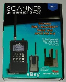 Whistler TRX-1 Handheld Digital Scanner Radio BRAND NEW