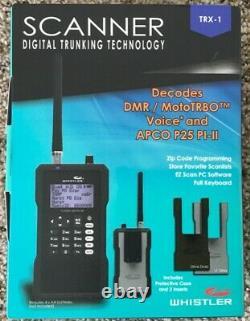 Whistler TRX-1 Handheld Digital Scanner Radio with NOA same weather alert