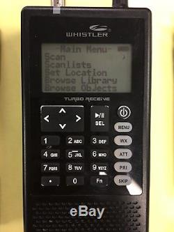 Whistler TRX-1 P25 Handheld Digital Trunking Scanner Radio USED & WORKING