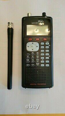 Whistler WS1040 Black Digital Handheld Scanner