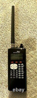 Whistler WS1040 Digital / Analog Handheld Scanner with NIMH Rechargeable Batteries