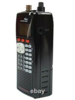 Whistler WS1040 Digital Handheld Police Scanner Radio Black Brand New