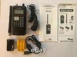 Whistler WS1040 Digital Handheld Police Scanner-black