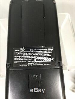 Whistler WS1040 Digital Handheld Scanner Black EUC Tested Works