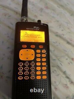 Whistler WS1040 Digital Handheld Scanner Black Scanner Only