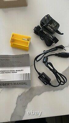 Whistler WS1040 Digital Handheld Scanner Black with Digital Trunking