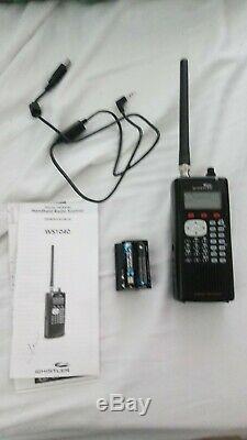 Whistler WS1040 Handheld Scanner Radio Digital Trunking 700MHz 1,800 Frequencies