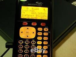Whistler WS1040 Handheld Scanner Radio Digital Trunking 700MHz + Extra Antenna