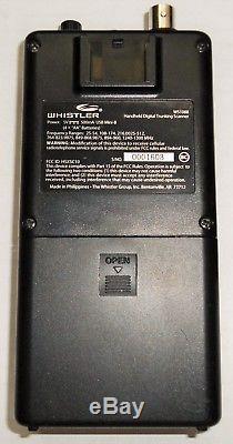 Whistler Ws1088 Digital Handheld Ez Scan Police Scanner Great Condition